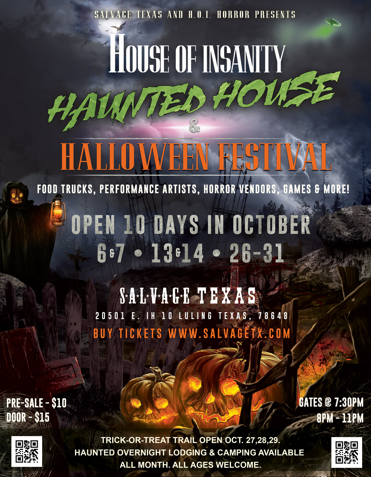 House Of Insanity Haunted House & Halloween Festival 2017