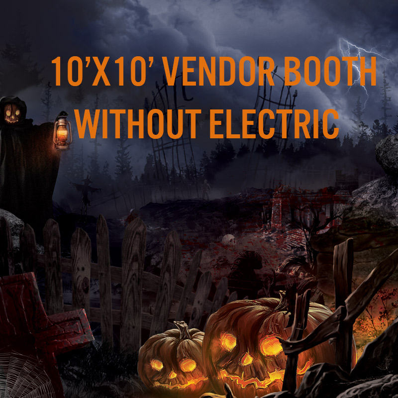 Vendor Booth WITHOUT ELECTRIC